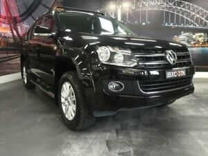 2015 Volkswagen Amarok 2H MY15 TDI420 Highline Black Automatic Utility Prospect Blacktown Area Preview