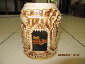Classic Dueling Dragons Universal's Islands Of Adventure BeerMug