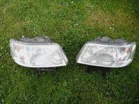 Volkswagen transporter t5 head lights