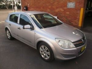 2007 Holden Astra AH MY07 CD Silver 4 Speed Automatic Hatchback Hamilton North Newcastle Area Preview
