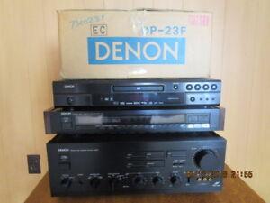 Classic Denon & Boston Acoustics Home Stereo System