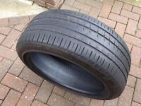 """235/45/19"""" Pirell Part Worn Tyre 4.85mm For Alloys Alloy Wheels"""