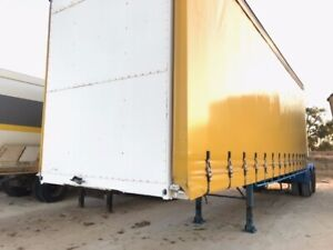 Trailer A Trailer Bogie Curtain 1TKR061 SN632 Malaga Swan Area Preview