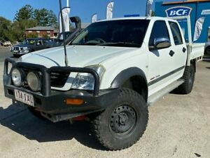 2003 Holden Rodeo RA LT Crew Cab White 5 Speed Manual Utility Greenslopes Brisbane South West Preview