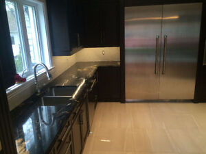 Granite Fantasy Brown @ QuebecKitchens.ca, Happy Customer West Island Greater Montréal image 7