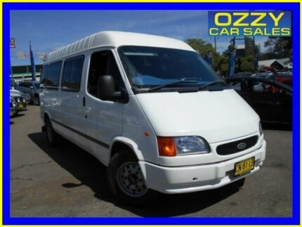 1999 Ford Transit VG Mid (LWB) White 5 Speed Manual Van Penrith Penrith Area Preview