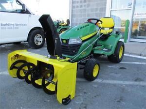 2015 John Deere X500 Lawn Mower Package