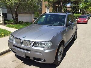 2007 BMW X3 3.0si M package mint condition fully loaded nego