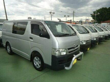 2007 Toyota Hiace KDH201R MY07 Upgrade LWB Silver 5 Speed Manual Van
