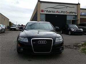 2010 Audi A6 3.0L S-line Special Edition W/BACK UP CAMERA