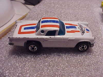 Hot Wheels Loose '57 T-Bird White with Blackwall Tires on Hong Kong Base