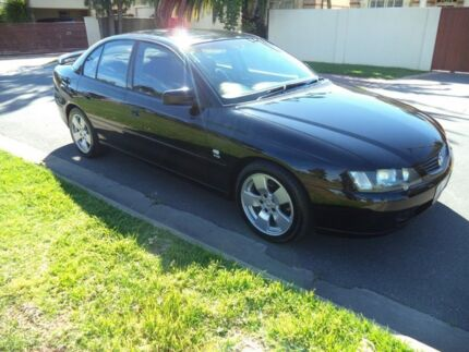 2002 Holden Commodore VY SV8 Black 6 Speed Manual Sedan Somerton Park Holdfast Bay Preview