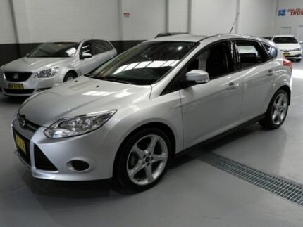 2015 Ford Focus LW MKII Ambiente Hatchback 5dr PwrShift 6sp, 1.6i [MY14] Silver