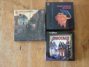 Black-Sabbath-3-Empty-Promo-Box-Japan-Mini-LP-no-cd-ozzy-osbourne-paranoid-QR