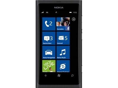 Nokia Lumia 800 schwarz [OHNE SIMLOCK] AKZEPTABEL na sprzedaż  Wysyłka do Poland
