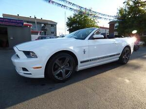 2014 FORD MUSTANG V6 CONVERTIBLE (AUTOMATIQUE, CUIR, FULL!!!)