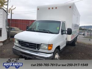 2004 Ford E-450 16.5 Foot Box Truck/Cube Van DIESEL
