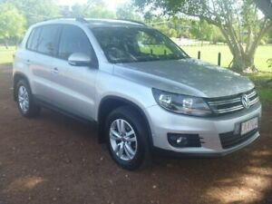 2012 Volkswagen Tiguan 5N MY13 132TSI Tiptronic 4MOTION Pacific Silver 6 Speed Sports Automatic Stuart Park Darwin City Preview