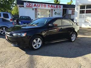 09 Mitsubishi Lancer Automatic/Heated Seats/Gas Saver/Certified