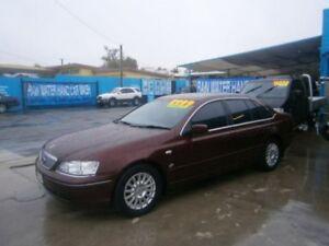 2003 Ford Fairlane BA Ghia Burgundy 4 Speed Sports Automatic Sedan