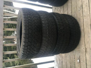 Four 185/65R15 Winter Tires