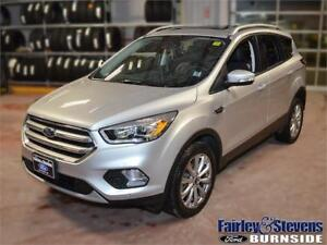 2017 Ford Escape Titanium $238 Bi-Weekly OAC