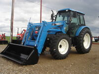 New 97HP LS 4wd Tractor with loader