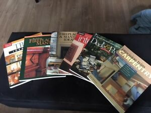 magazines de menuiserie - Carpentry magazines