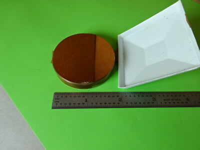 Optical Solid Copper Mirror Laser Optics Thick Plate As Is L5-b-27