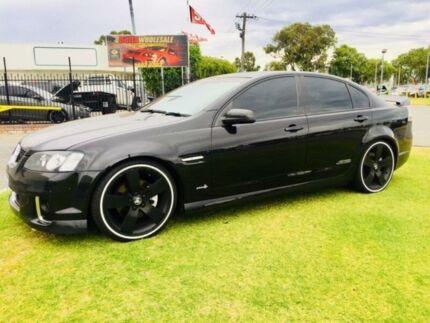 2011 Holden Commodore VE II SS-V Black 6 Speed Automatic Sedan