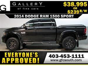 2014 DODGE RAM SPORT LIFTED *EVERYONE APPROVED* $0 DOWN $239/BW!