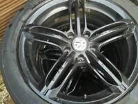 Transporter 18inch VW Wheels Tyres