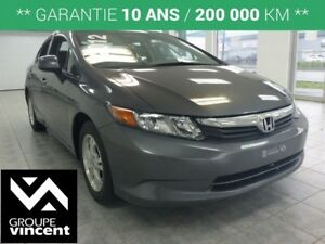 2012 Honda Civic LX **BLUETOOTH**