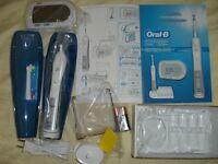 Oral B Electric toothbrush; Waterpik, 3TB Seagate Backup drvie