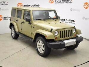 2013 Jeep Wrangler Unlimited Sahara 4x4 Nav