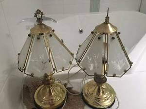 Bedside Lamps Gold 1980s Melville Melville Area Preview