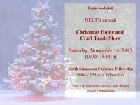 NECF Annual Christmas Home and Craft Trade