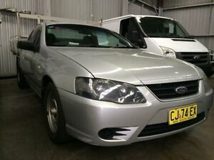 2006 Ford Falcon BF MkII XL (LPG) Silver 4 Speed Automatic Cab Chassis Macquarie Hills Lake Macquarie Area Preview