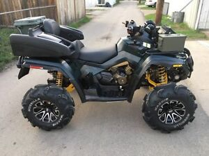 2007 BRP Can-Am Outlander 800, LIFTED, TRAIL READY