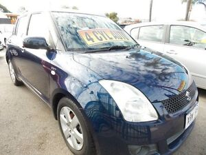 2007 Suzuki Swift RS415 S Blue 4 Speed Automatic Hatchback Enfield Port Adelaide Area Preview