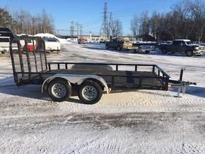 "NEW 2017 PJ 83"" x 14' READY-RAIL LANDSCAPE TRAILER"