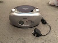 Phillips Silver cd player