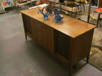 Mid century Clairtone entertainment unit