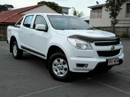 2016 Holden Colorado RG MY16 LS-X Crew Cab White 6 Speed Sports Automatic Utility Chermside Brisbane North East Preview