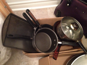 Pots, Pans and cookware