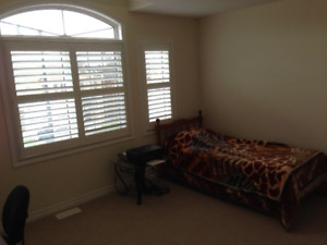 Bedroom attached with Private  Washroom  in Brampton