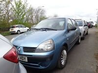 2005 05 reg renault clio rush 1.2 8v 5 door mot to 19/4/2018 good we car £690