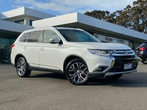 2015 Mitsubishi Outlander ZK MY16 LS 4WD White 6 Speed Constant Variable Wagon Traralgon Latrobe Valley Preview