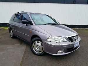 2002 Honda Odyssey 2nd Gen MY2002 Silver 4 Speed Automatic Wagon Heidelberg Heights Banyule Area Preview