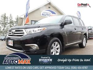 2013 Toyota Highlander! AWD! 7 Passenger! $118 Weekly Tax Inc!